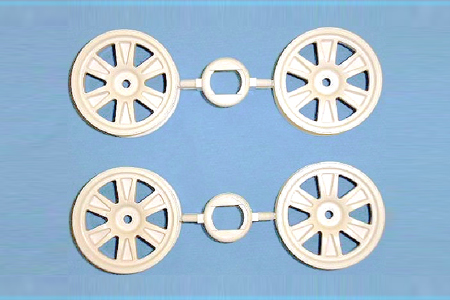 Tamiya M-N 12-S Wheels X 4 (24Mm/+2) 51299