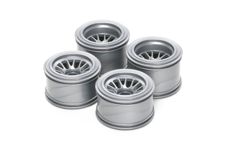 Tamiya F104 Mesh Wheels (F1) 51398