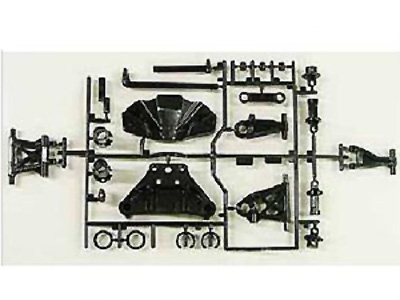 Tamiya TT-02 B Parts (Suspension Arms) FR/RR (2) 51528