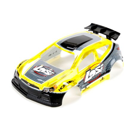 Losi 1 24 4WD Micro Rally X Painted Body Yellow LOS200003