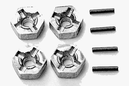 Tamiya Pin Type Wheel Adapters 53056