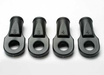 Traxxas Rod ends, Revo (large, for rear toe link only) 5348