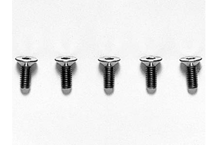 Tamiya 3X8Mm Titan Cs Hex Screw X5 53534