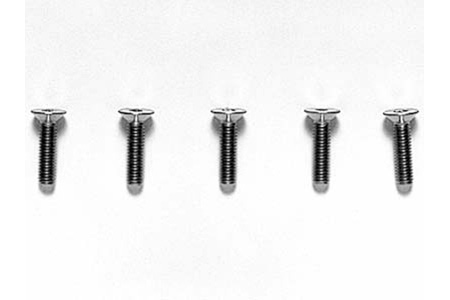Tamiya 3X12Mm Titan Cs Hex Screw X5 53536