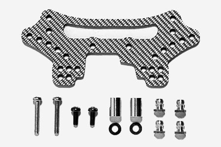 Tamiya Ta04 Ssg Carbon Rear Damper Stay (Ta04) 53608
