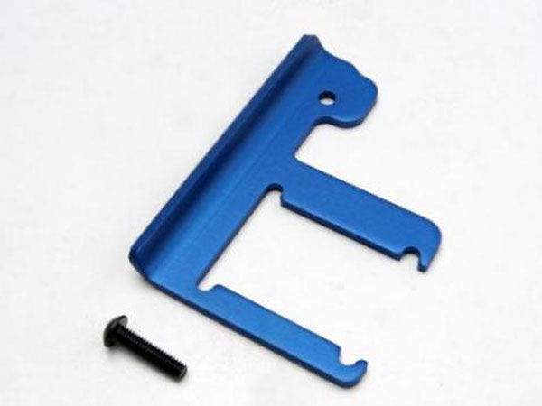 Traxxas Chassis Brace, Revo (3mm 6061-T6 Aluminum) (Blue-Anodized) 5361