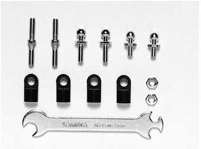 Tamiya TT-01 Turnbuckle Tie-Rod Set 53662