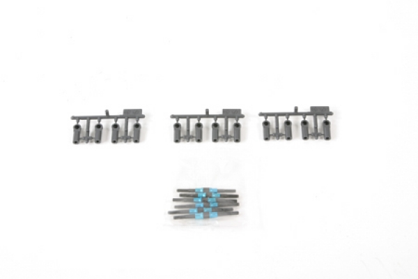 Tamiya DF03 Hard Turnbuckle Shaft Set 53940