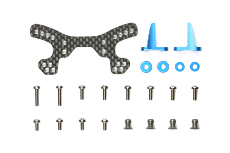 Tamiya Df-03Ra Carbon Front Damper Stay 54189