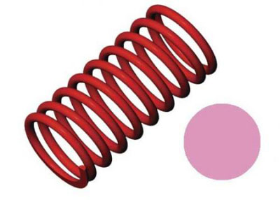 Traxxas Shock Spring (GTR) (5.4 Rate, Pink) 5443