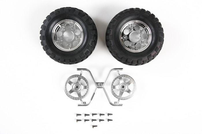 Tamiya Rb Tires +2P 5Spk Wheel Cc-01 (Cc-01) 54554