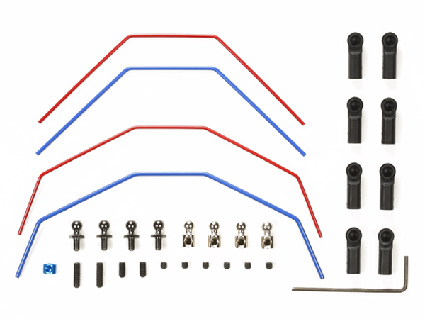 Tamiya DT-03 Stabilizer Set (Front and Rear) 54561