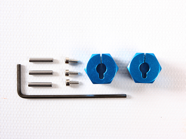 Tamiya Clamp Type Aluminium Wheel Hub 9mm 54610