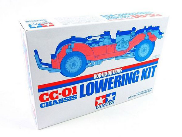 Tamiya CC-01 Chassis Lowering Kit 54625