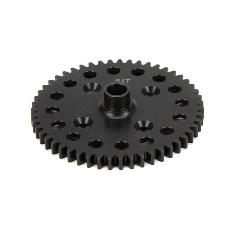 Team Losi Racing 51T Spur Gear: 8T 4.0 TLR242021