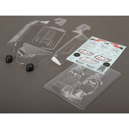 Losi Body Set Clear: TEN SCBE LOS230016