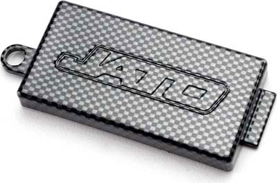 Traxxas Receiver cover (Chassis Top Plate), Exo-Carbon Finish (Jato) 5524G