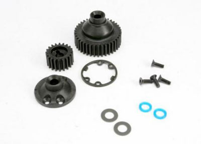 Traxxas Gear, Differential 38T(1)side cover gasket output gear seals 5579