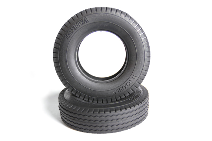 Tamiya Truck Tyre X 2 Hard 22Mm 56527