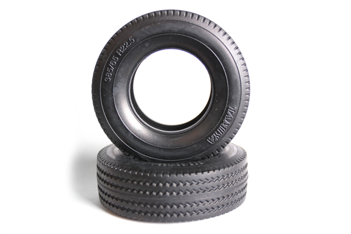 Tamiya Truck Tyre X 2 Hard 30Mm 56528