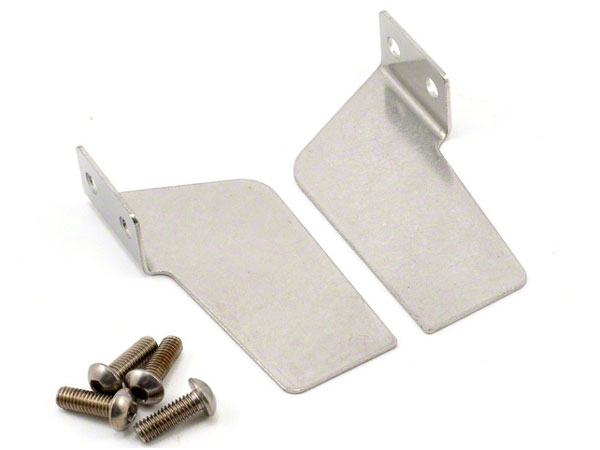 Traxxas Turn Fins, Left & Right/ 4x12mm BCS (Stainless) (4) 5732