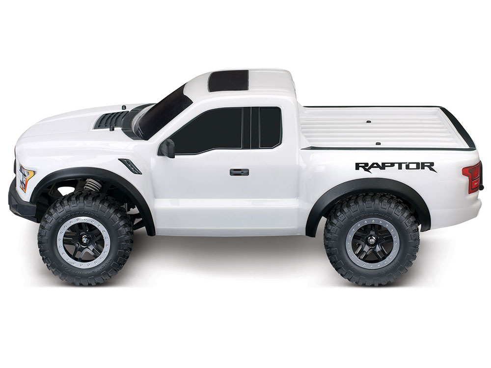 traxxas 2017 ford raptor f150 xl 5 2wd oxford white 58094 1wh. Black Bedroom Furniture Sets. Home Design Ideas