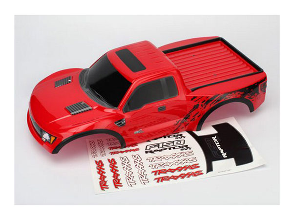 Traxxas Ford F-150 Raptor SVT (Red) 5814R