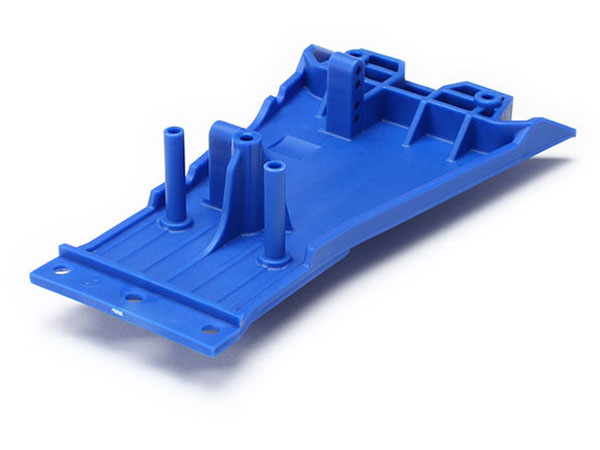 Traxxas Lower Chassis, Low CG (Blue) 5831A