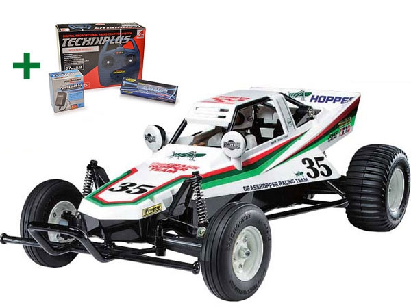 Image Of Tamiya Grasshopper Special Bundle Package