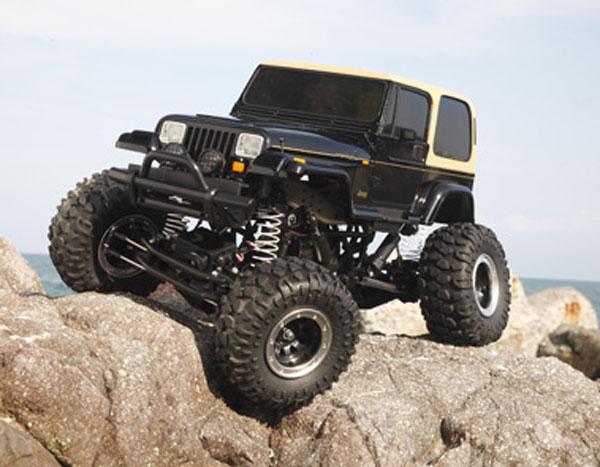 58429C Tamiya Jeep Wrangler Rock Crawler Combo