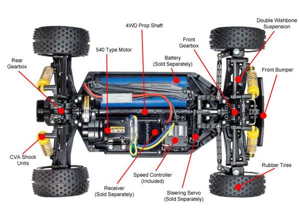 Tamiya Neo Scorcher Buggy (TT-02B) 58568