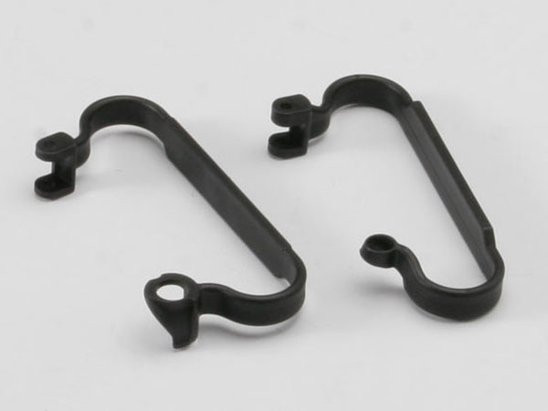 Traxxas Chassis Nerf Bars (Black) 5923
