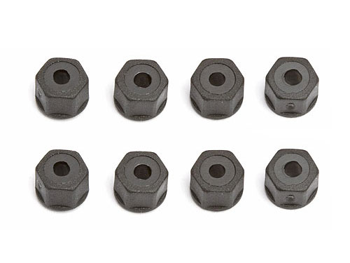 Image Of Associated Self Threading Nylon Locknut Fits 4-40/5-50 Thread (8)