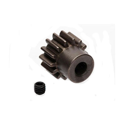 Traxxas Gear 14t Pinion (1.0 Metric pitch, 20 deg. Pressure Angle) (Fits 5mm Shaft) 6488