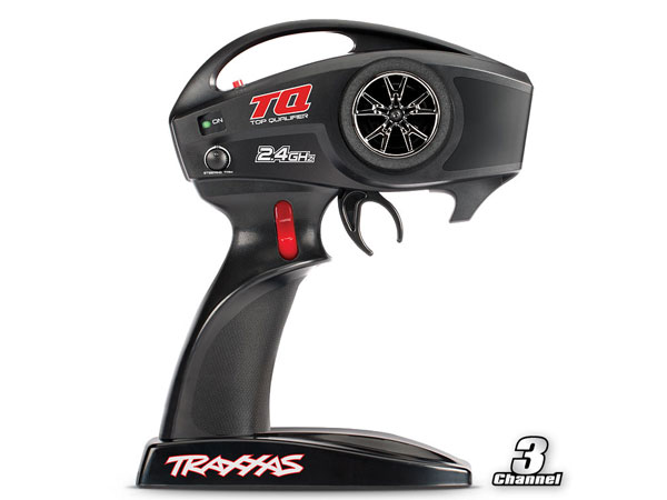 Traxxas Transmitter, TQ 2.4Ghz, 3-Channel 6517