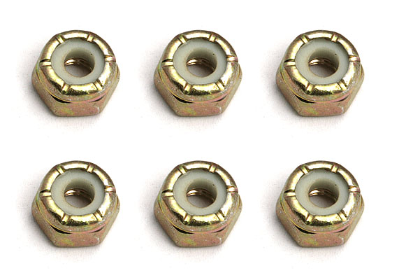 Image Of Associated  Diff  Locknuts 5-40