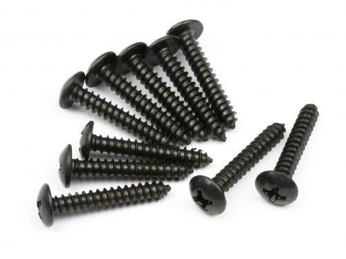 Hot Bodies Tp Button Head Screw M3x19mm (10pcs) 66594