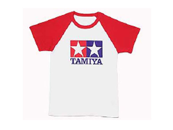Tamiya T-Shirt W/S.R.Sleeve (Red) Large 66730