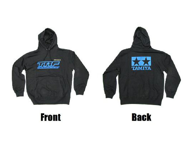 Tamiya TRF Hooded Sweatshirt (Black) Medium 67049