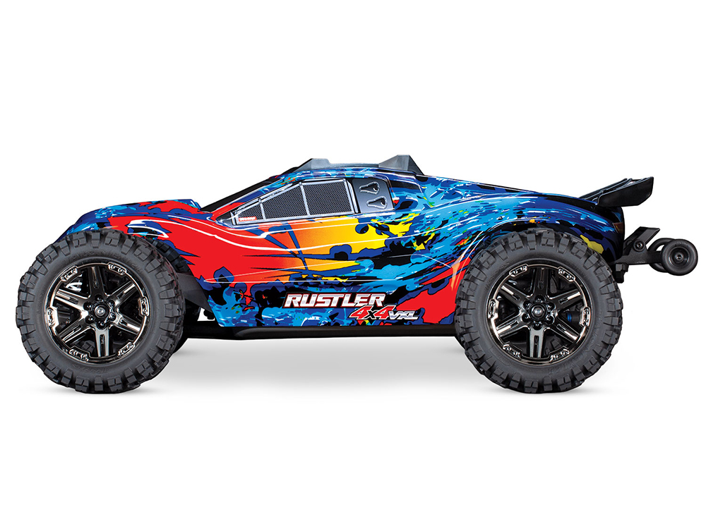 BRAND NEW Traxxas Rustler 4x4 VXL Brushless Edition Roller Chassis w// Extras!!