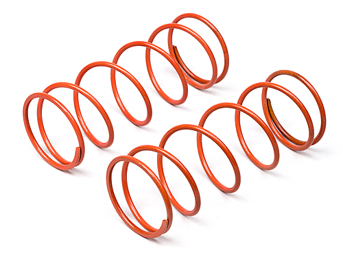 Image Of Hot Bodies Big Bore Shock Spring _orange/60mm/98gf/2pcs)