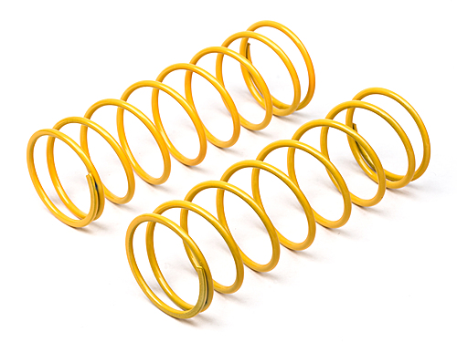 HPI Big Bore Shock Spring (yellow/68mm/68gf/2pcs) 67451