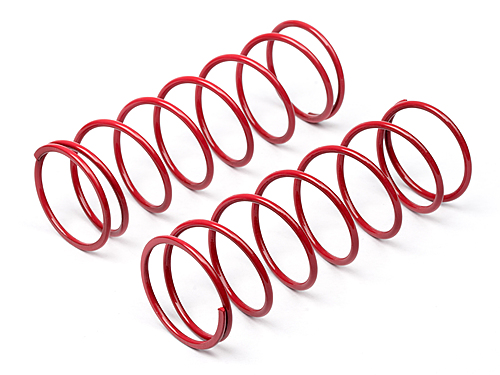 Hot Bodies Big Bore Shock Spring (red/68mm/81gf/2pcs) 67452