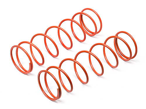 Hot Bodies Big Bore Shock Spring (orange/76mm/74gf/2pcs) 67456