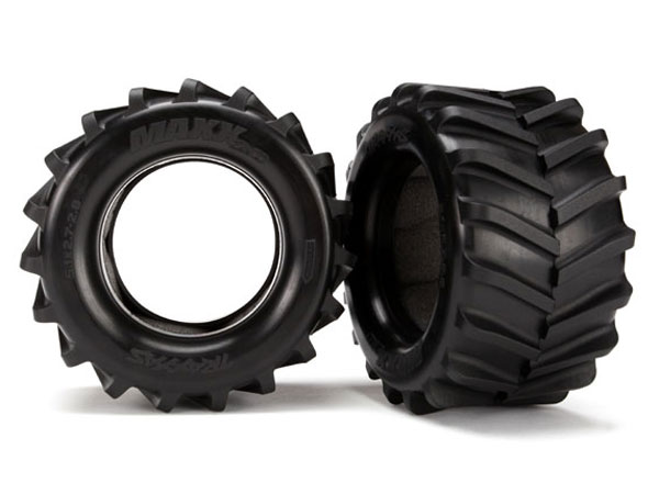 Traxxas Maxx Tyres 2.8 with Foam Inserts (2) 6770