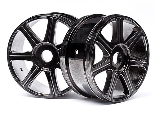 Image Of Hot Bodies HB Edge Wheel (black Chrome/2pcs)