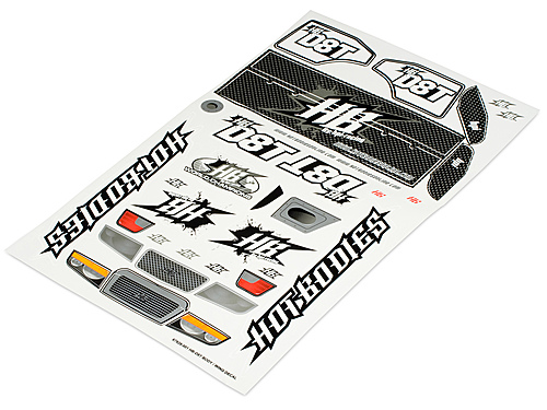 Image Of Hot Bodies HB D8t Body/wing Decal