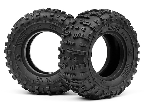 Image Of Hot Bodies HB Rover 1.9 Tire (red/rock Crawler/2pcs)