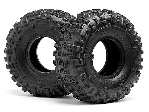 Image Of Hot Bodies HB Rover-ex Tire (pink/rock Crawler/2pcs)