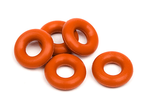 HPI Silicon O-ring P-3 (red) (5 Pcs) 6819